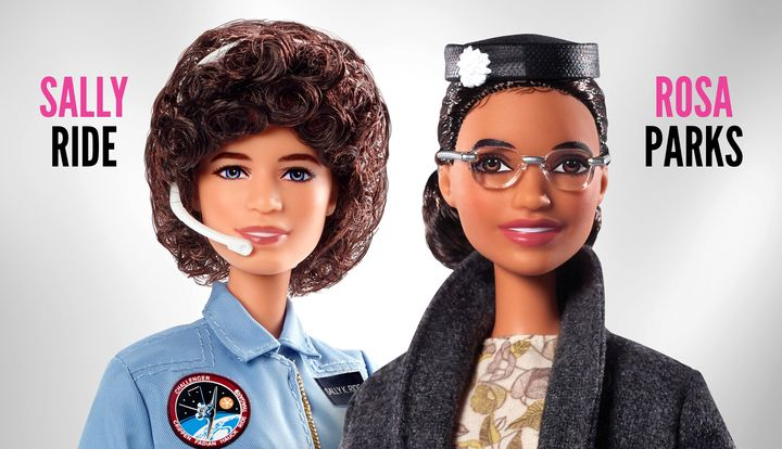 Barbie introduced two new dolls to their Inspiring Women series on Monday: Sally Ride and Rosa Parks.