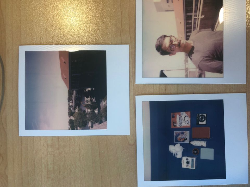 Des photos prises avec le Polaroid One Step