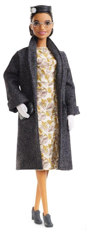 Barbie's Rosa Parks doll.