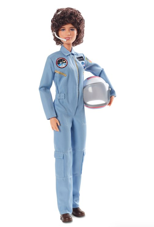 Barbie's Sally Ride doll.