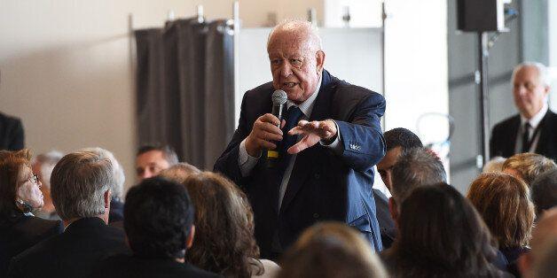 Jean-Claude Gaudin à Marseille le 9 novembre