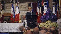 Sarkozy prononce l'éloge funèbre aux obsèques de