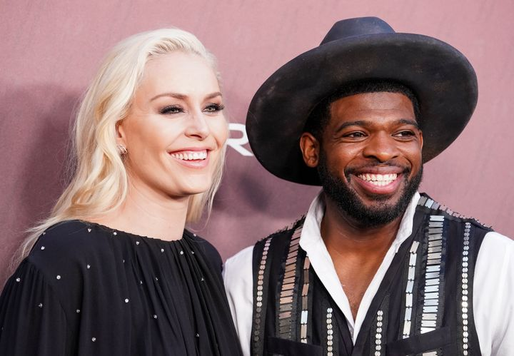 P.K. Subban and Lindsey Vonn have been together for two years.