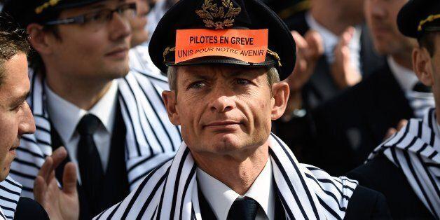 La grève des pilotes d'Air France a suffit à plongé les résultats 2014 du groupe dans le