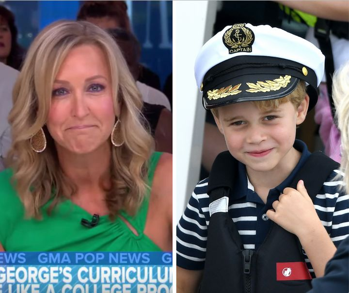 Lara Spencer came under fire for making comments about Prince George's ballet classes in a segment on Thursday.