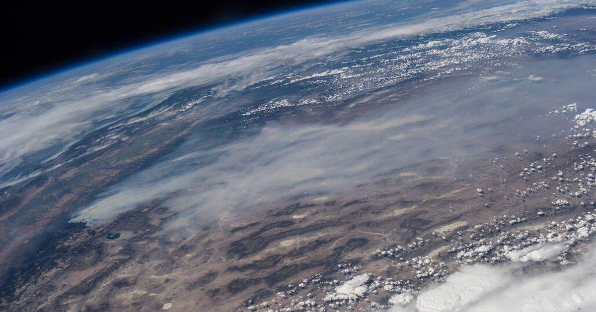 El mundo en llamas: la imagen de la NASA que muestra el peor escenario