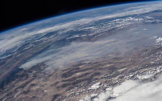 El mundo en llamas: la imagen de la NASA que muestra el peor