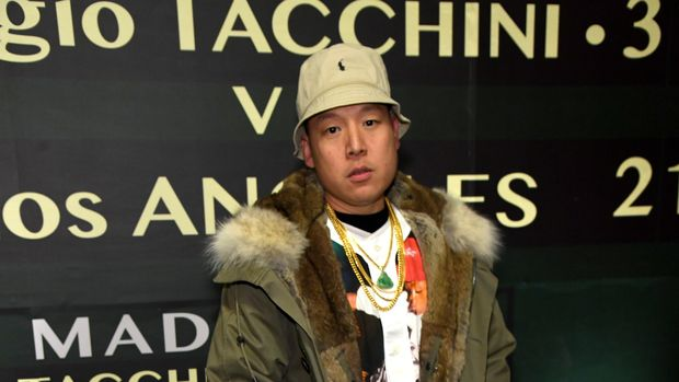 LOS ANGELES, CA - FEBRUARY 21:  Eddie Huang attends the Sergio Tacchini STLA Launch on February 21, 2019 in Los Angeles, California.  (Photo by Kevin Mazur/Getty Images)