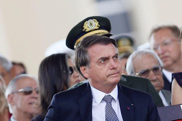 Jair Bolsonaro, ici lors d'une cérémonie militaire le 23 août 2019, a autorisé...