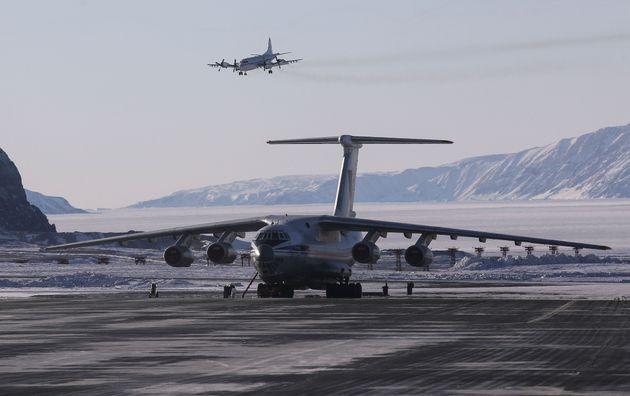 グリーンランドのチューレ空軍基地