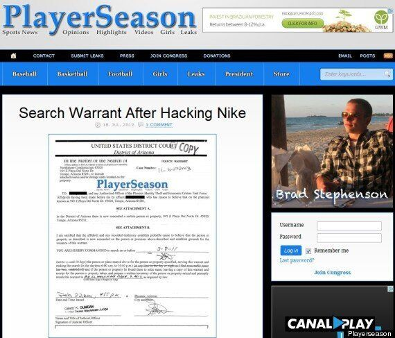 Plus de 80.000 dollars de marchandises volées sur le site de Nike par un hacker grâce à une faille de