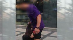 경찰이 일본 여성 폭행 사건 피의자를