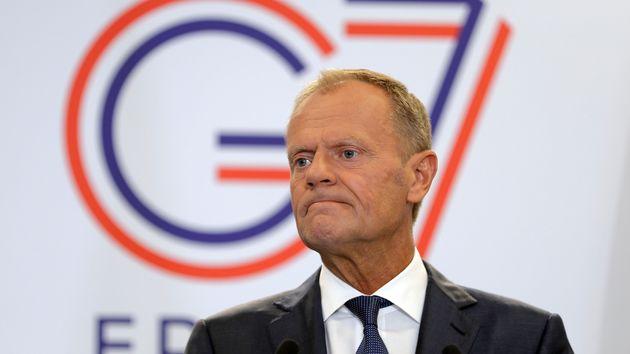 Donald Tusk Opens G7 Summit With Stark Warning To Boris Johnson Over Brexit