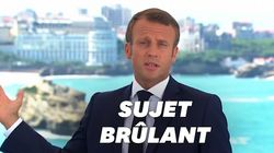 Macron veut que le G7 soit une réponse à