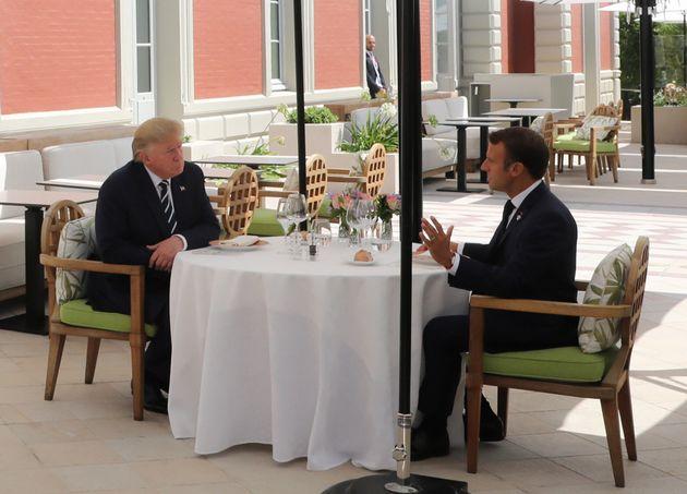 G7, il pranzo