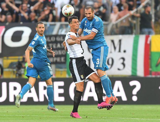 Eterno Chiellini, suo il primo gol del campionato 2019 2020