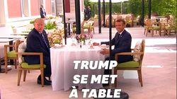 Trump admet que Macron et lui