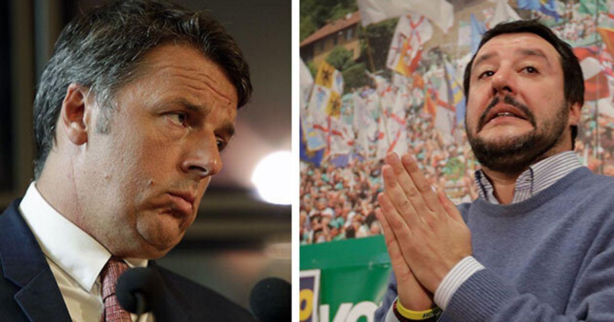 """""""Salvini ora è quasi Ko"""". Matteo Renzi dopo le parole di Conte"""