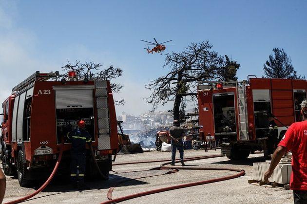 Κόκκινος συναγερμός στην Πυροσβεστική: Αυξημένη επιφυλακή σε Αττική, Στερεά Ελλάδα και