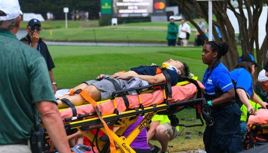 Un éclair fait six blessés au Championnat du circuit de la