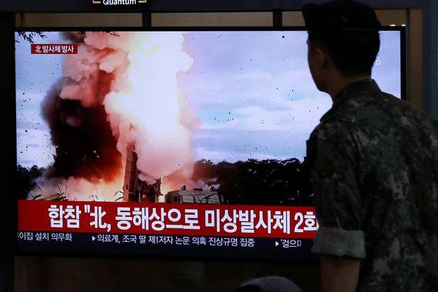 북한이 발사체에 대해
