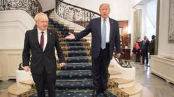 Trump promet à Johnson l'accord commercial le