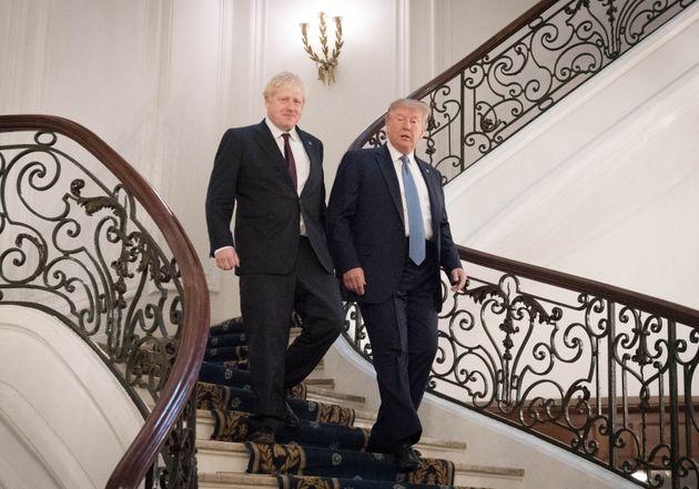 Trump et Johnson se rencontrent au G7, mais sont-ils vraiment