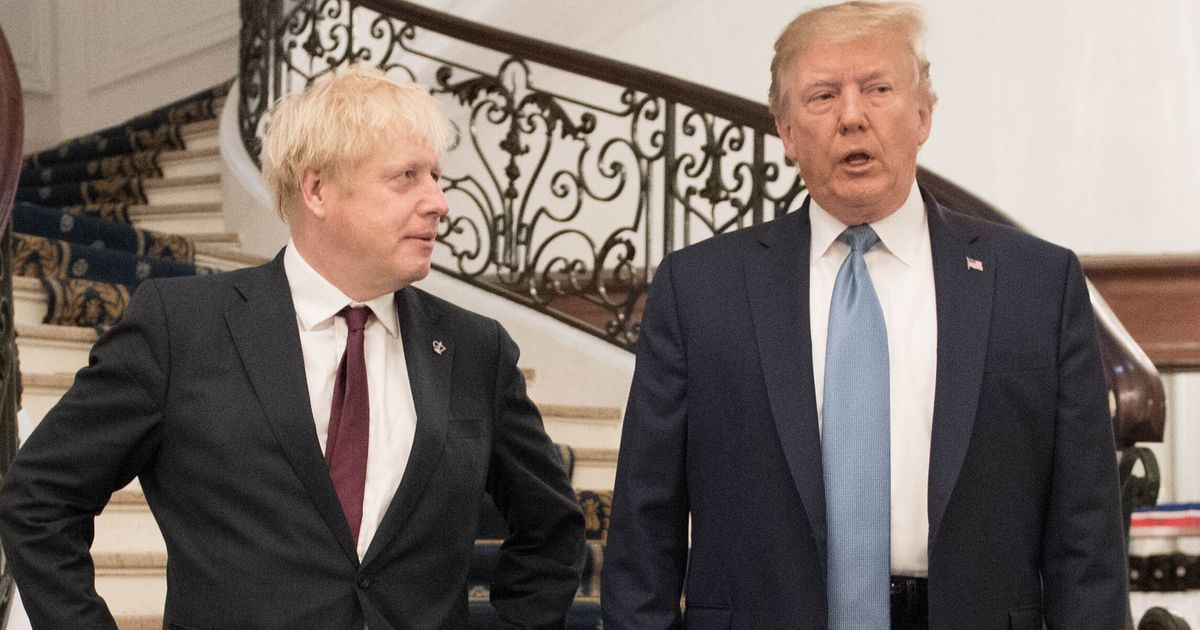Trump Tells Johnson He Wants UK-US Trade Deal 'Within A Year'