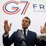Au G7, Macron s'explique après un début d'imbroglio sur