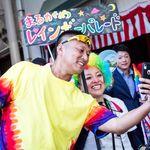 ハイタッチして「ハッピープライド!」🌈中四国でレインボーパレードが初めて開かれた日はこんな1日だった
