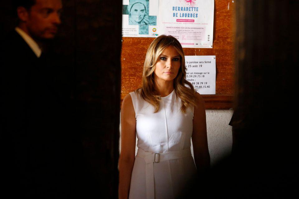Μπριζίτ Μακρόν και Μελάνια Τραμπ: Βόλτες και σανγκρία στο