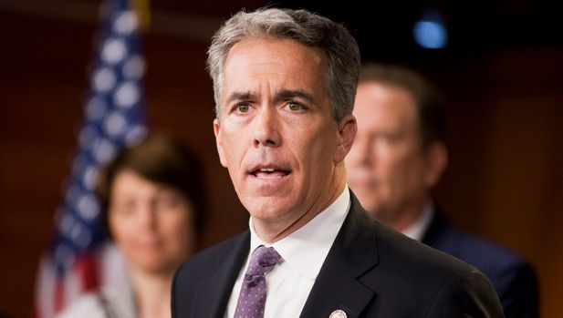 UNITED STATES - JULY 14:  Rep. Joe Walsh, R-Ill., speaks at a news conference with other House republicans in the Capitol Visitor Center on the topics of a proposed balanced budget amendment and also the ongoing debt ceiling talks.  (Photo By Tom Williams/Roll Call)
