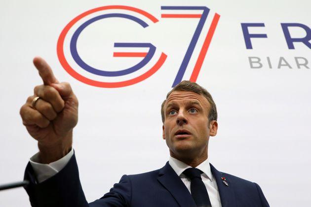 G7 concorda em ajudar Amazônia 'o mais rápido possível', diz