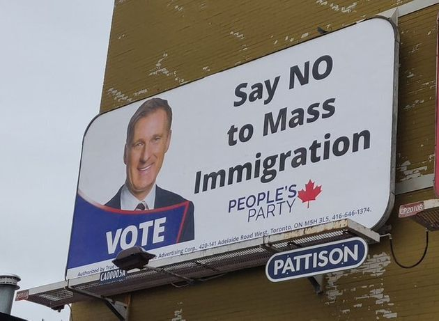 Image result for bernier billboard