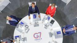 Cette photo du G7 a inspiré un concours de blagues (et c'est