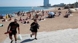 Espagne: Une plage évacuée à Barcelone après une alerte à la