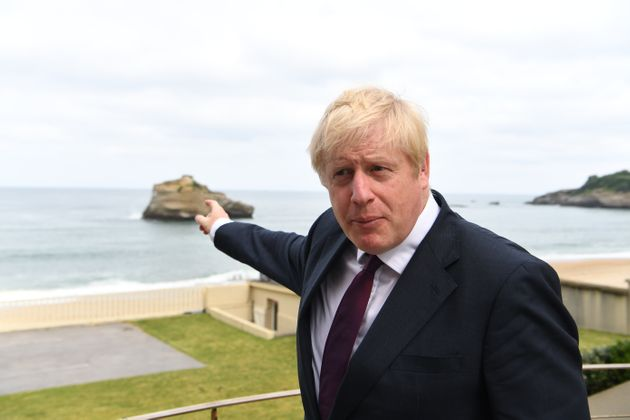 Boris Johnson Offers Brexit Metaphor After Morning Swim In Sea At G7 Summit