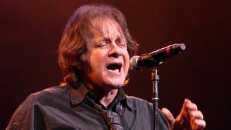 Classic-rock musician Eddie Money performs at the American Music Theatre on Thursday, Jan. 31, 2013, in Lancaster, Pa. (Photo by Owen Sweeney/Invision/AP)