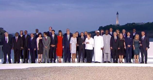 Así ha sido el encuentro entre Emmanuel Macron y Pedro Sánchez en