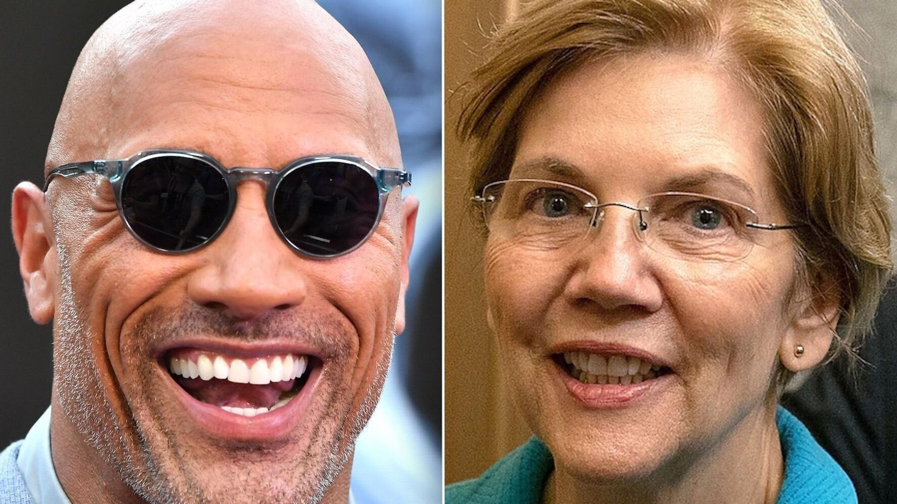 The Rock And Elizabeth Warren Share The Love Again Over 'Ballers' On Twitter