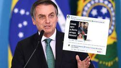 Sur Facebook, Jair Bolsonaro s'amuse d'un commentaire offensant sur Brigitte