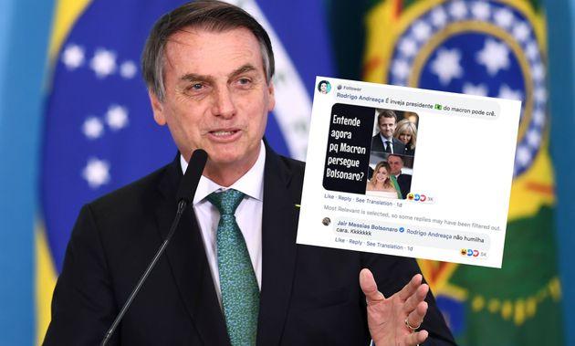 Le président brésilien Jair Bolsonaro, ici le 24 juillet à Brasilia, s'en est pris...