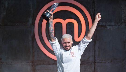 Rodrigo é o grande campeão do Masterchef