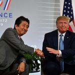 중국이 안산 미국 옥수수 수천억원어치, 아베가