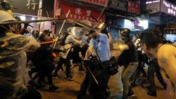 Hong Kong Police Draw Guns, Arrest 36 In Latest