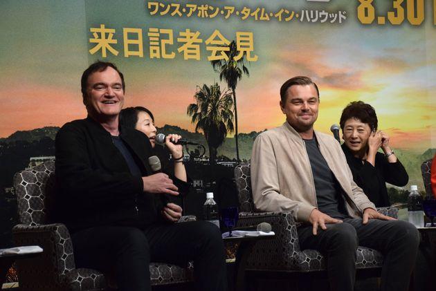 ディカプリオとタランティーノが来日。新作は「ハリウッドを祝福するような作品」 2人が語ったこととは?