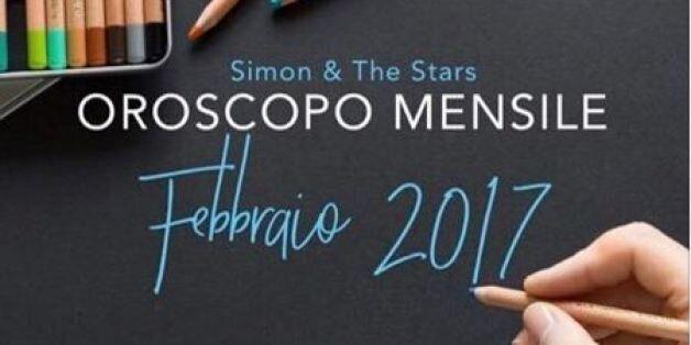 Oroscopo febbraio 2017 di Simon and the stars. Alla prova scorpione e toro. Bene Ariete e