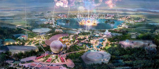 Disney World's Epcot Theme Park Is Receiving A Massive