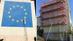 Che fine ha fatto il murales dedicato alla Brexit di Banksy sparito nel giro di una