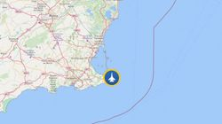 Un avión del Ejército del Aire se estrella en el mar frente a La Manga